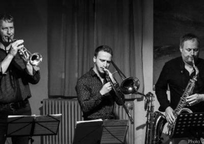 Moanin' Salsa : Michel Paré, Nathan Surquin, Laurent Sprimont